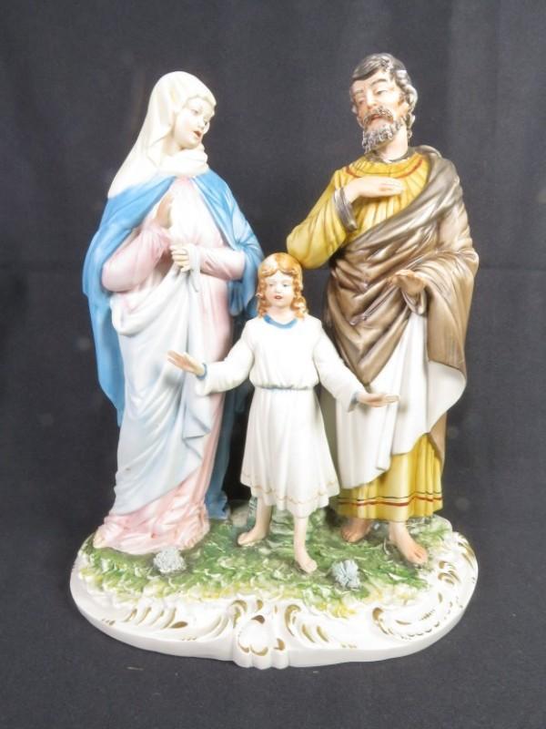 De Heilige familie in biscuit