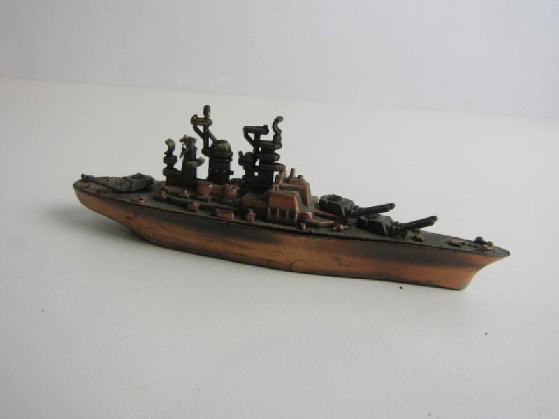 Model Slagschip, Bronskleurig, Puntenslijper