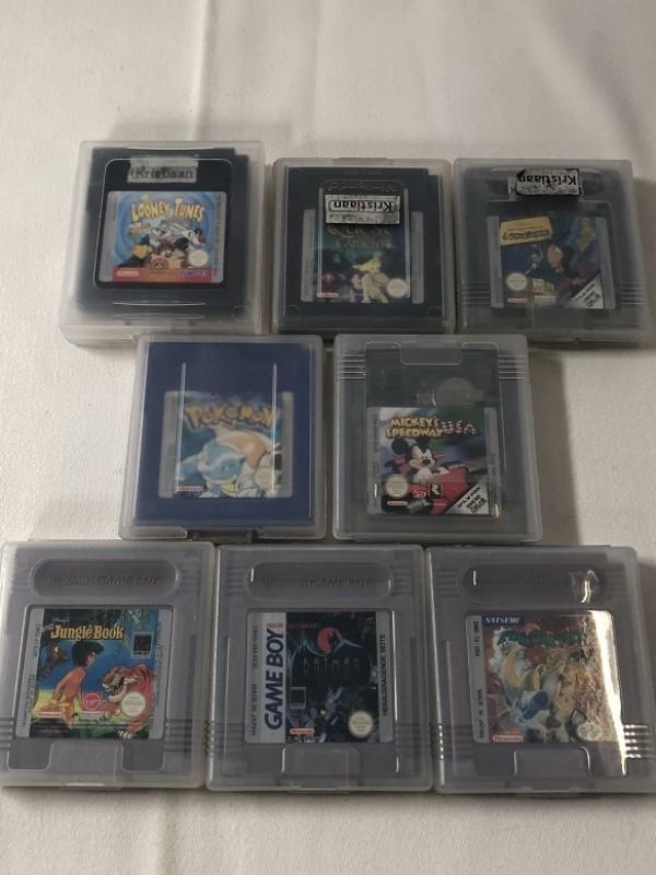 8 retro Game Boy spelletjes