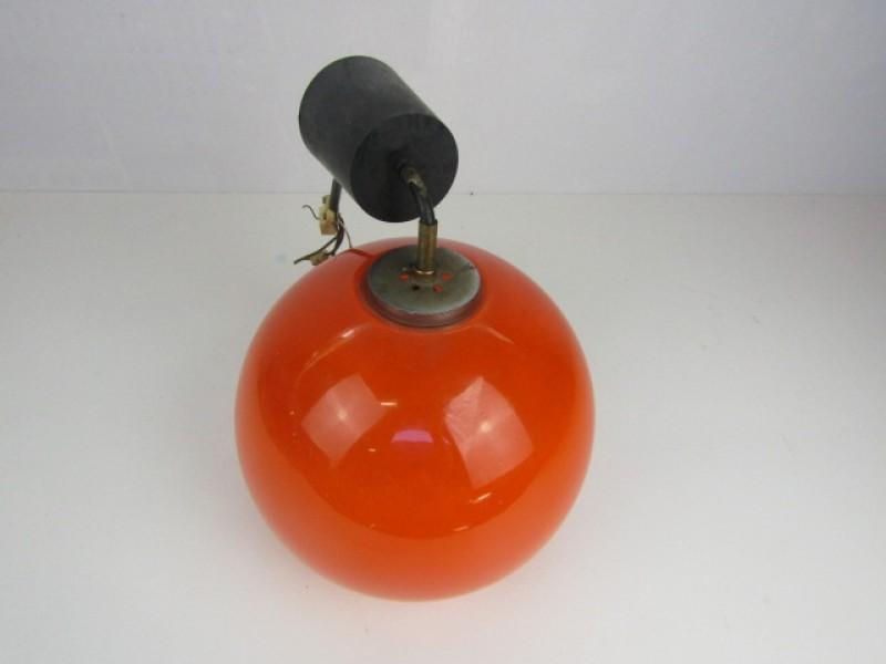 Oranje Glazen Retroluster, Bolvorm