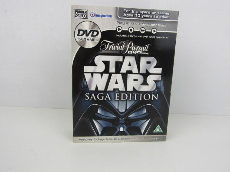 DVD spel, Trivial Pursuit, Star Wars Saga Edition