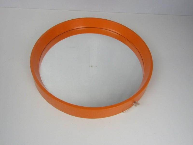 Retro Ronde Oranje Spiegel, Deens Design