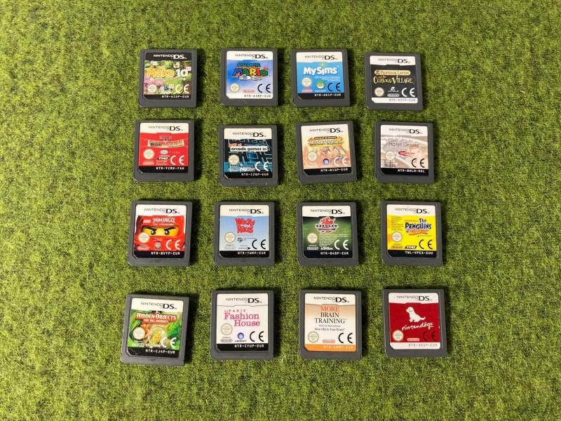 Lot van 16 Nintendo DS Games