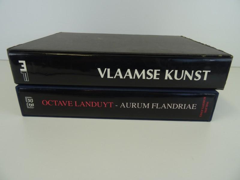 2 kunstboeken over Vlaamse kunst