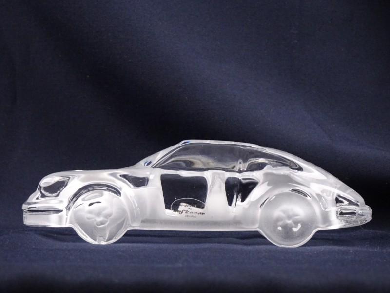 Zeer mooie kristallen Porsche. Made in West Germany HOFBAUER. 24% Pbo.