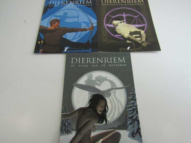 Volwassen Strips van Corbeyran: Dierenriem, deel 7,9 en 11