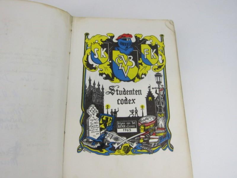 Boek, Studentencodex, KVHV Leuven