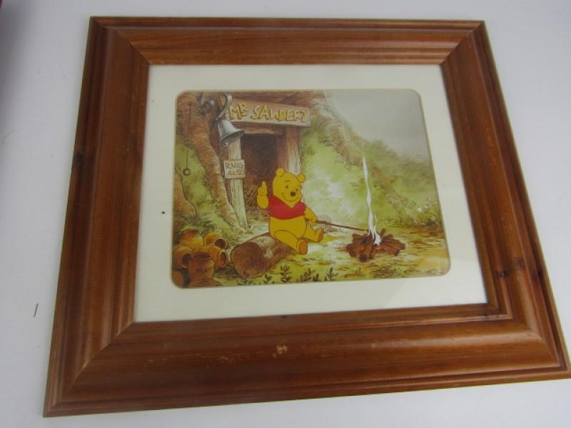 Kader, Winnie The Pooh bij houtvuurtje