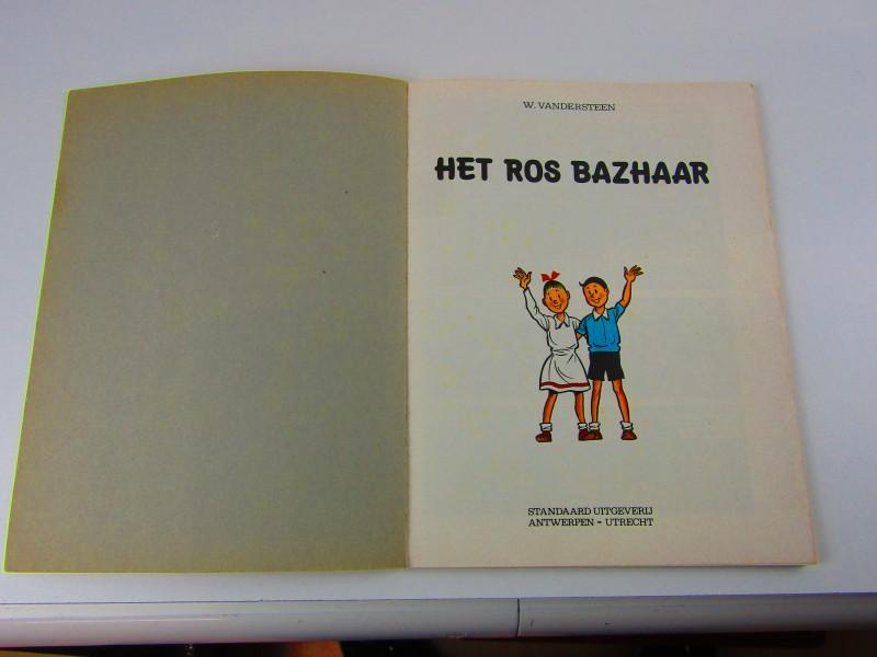 Strip, Suske En Wiske, Het Ros Bazhaar, 1974