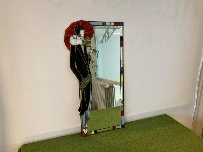 Spiegel in Tiffany stijl