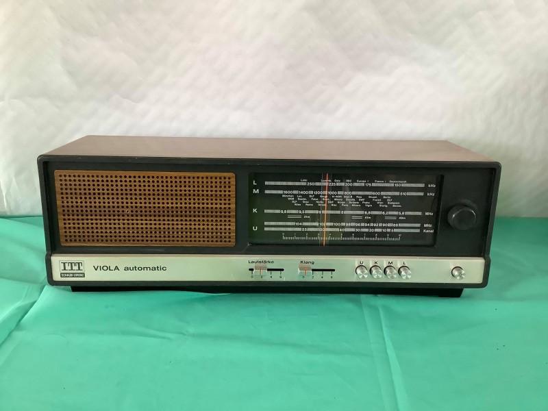 Vintage radio: Viola automatic ITT
