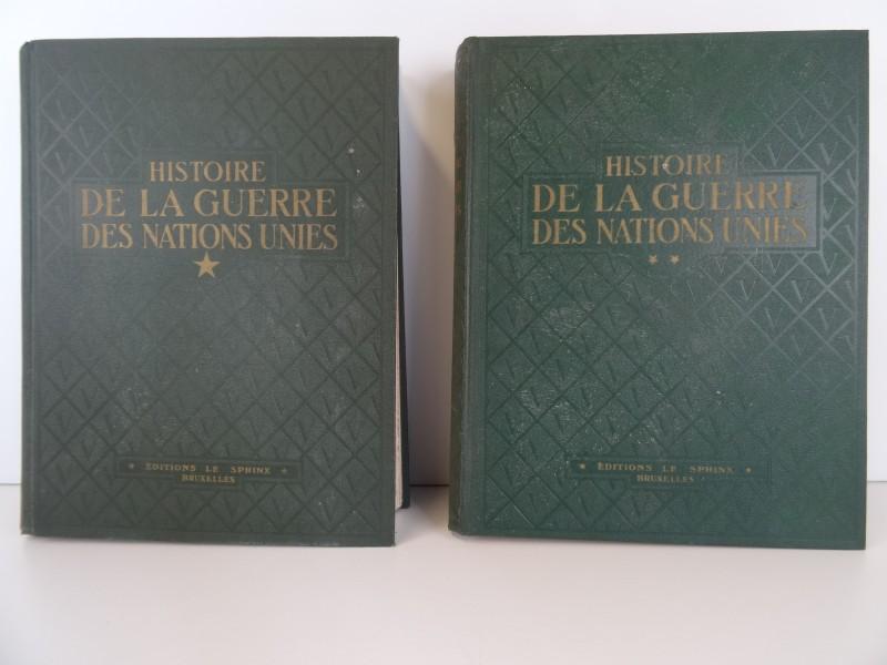 Henri Liebrecht: Histoire de la guerre des nations Unies 2 delen  1947 1949