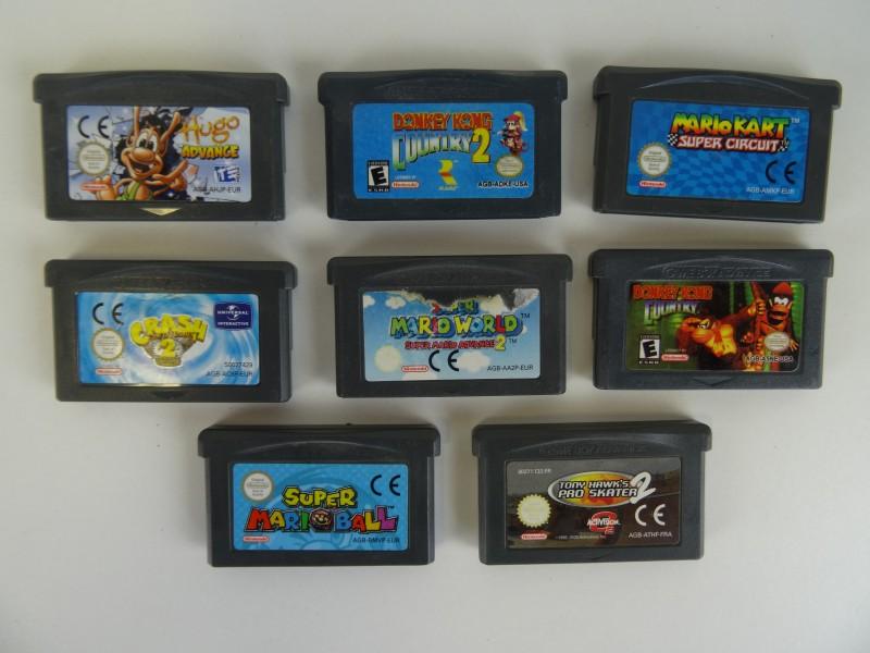 Lot GAMES Game Boy ADVANCE
