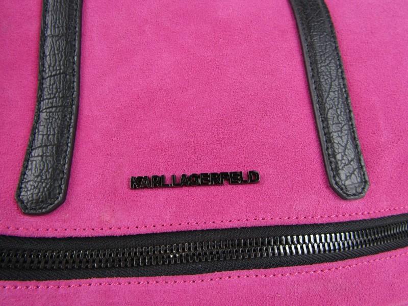 Handtas, Roze, Karl Lagerfeld