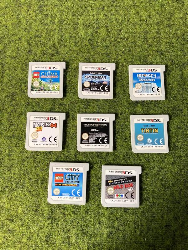Lot van 8 Nintendo 3DS games
