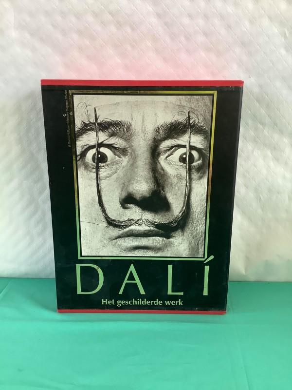 Boek van Dali: Het geschilderde werk
