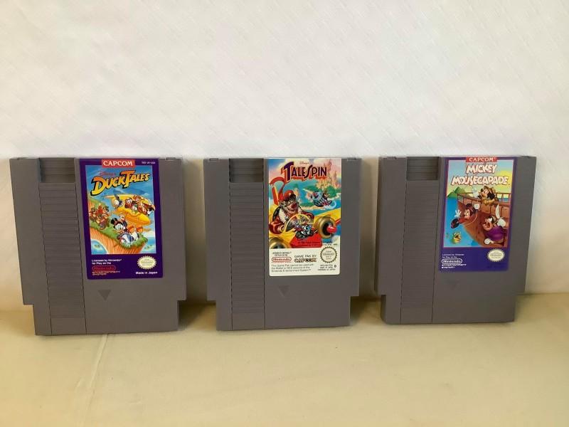 Lot van 3 Nintendo games