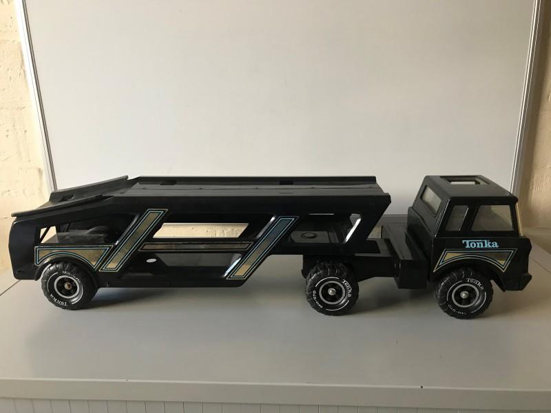 Mighty Tonka Car Carrier W