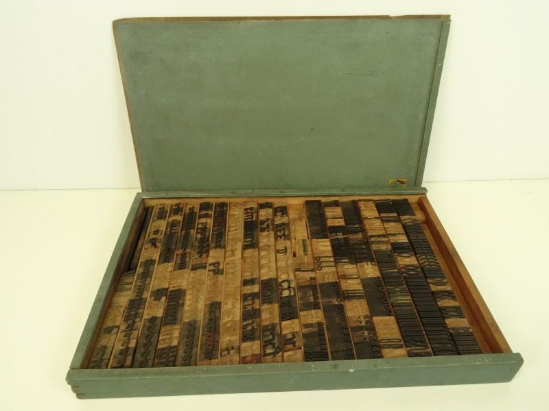 Verona houten stempel set