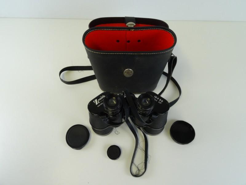Vintage Zenith Binoculars 16x50 field 3.5 coated optics
