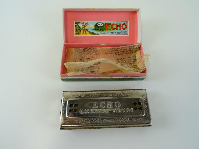 The echo harp - mondharmonica