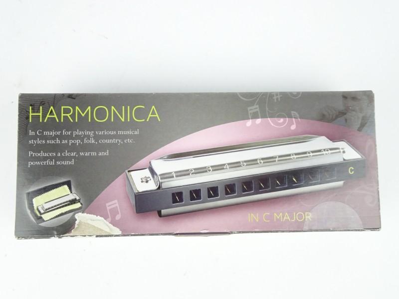 Harmonica in C majeur in bewaardoosje
