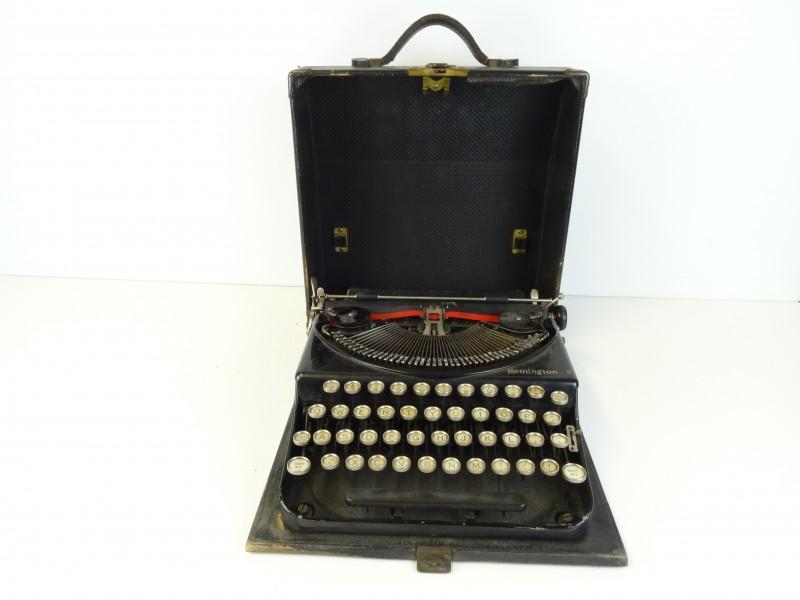 Remington 2 Typemachine in koffer