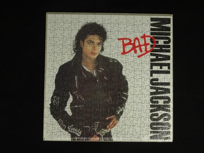 Micheal Jackson puzzel in originele verpakking (1987)