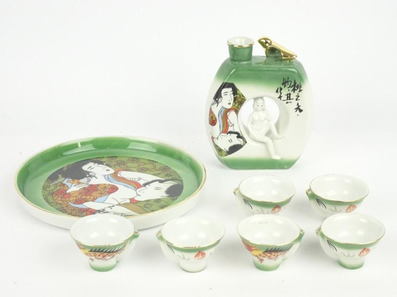 Japanse Sake set.