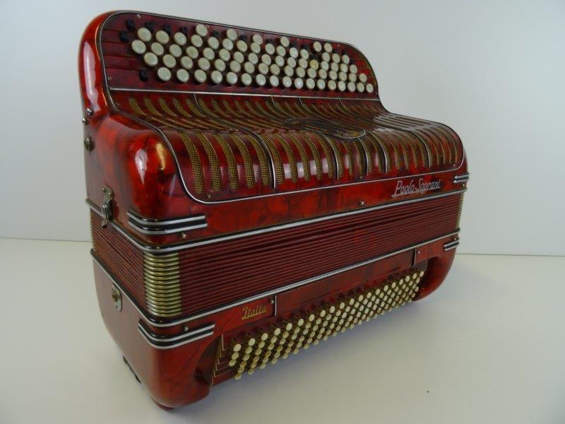 Vintage Paolo Soprani Accordeon