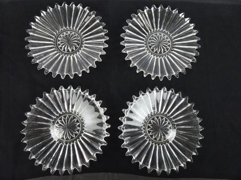 Bronzen beeld Chinese verkoper schelpen