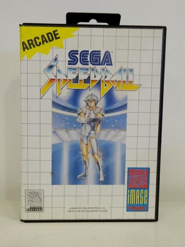 Sega master system - Speedball