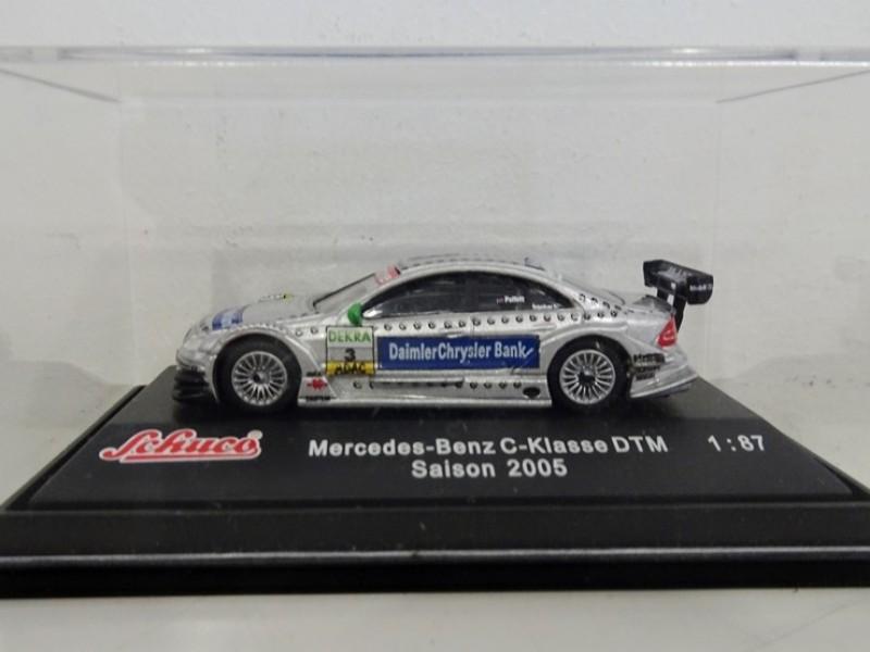 schaalmodel Mercedes-Benz C-klasse DTM van Paffett