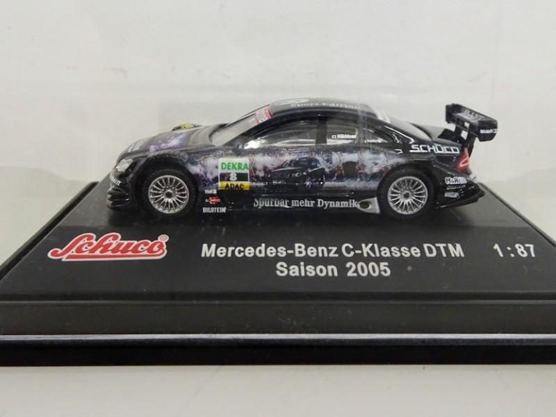 schaalmodel Mercedes-Benz C-klasse DTM van Häkkinen