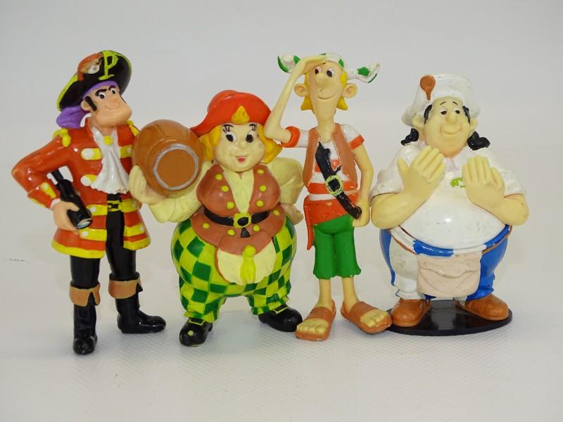4 Piet Piraat Figuurtjes