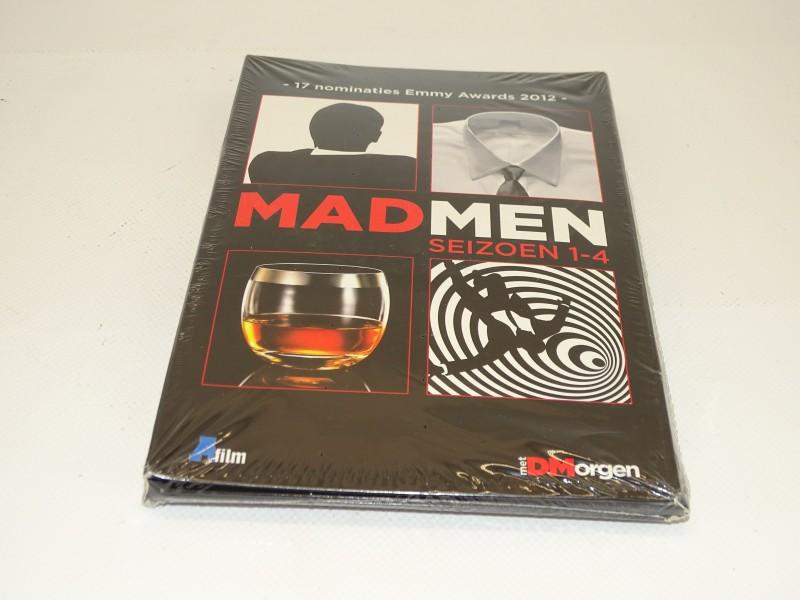 DVD: Mad Men, Seizoen 1 - 4