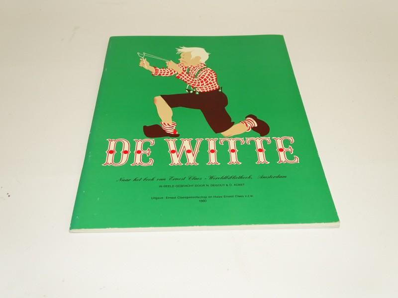 Genummerd Boek: De Witte, N. Degouy & D. Acket, 1980