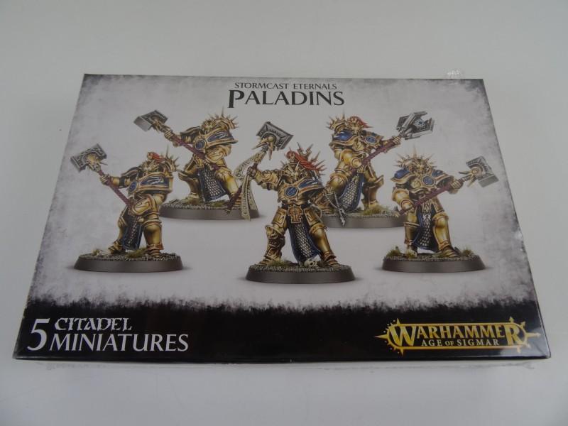 5 figuurtjes - Stormcast Eternals Paladins