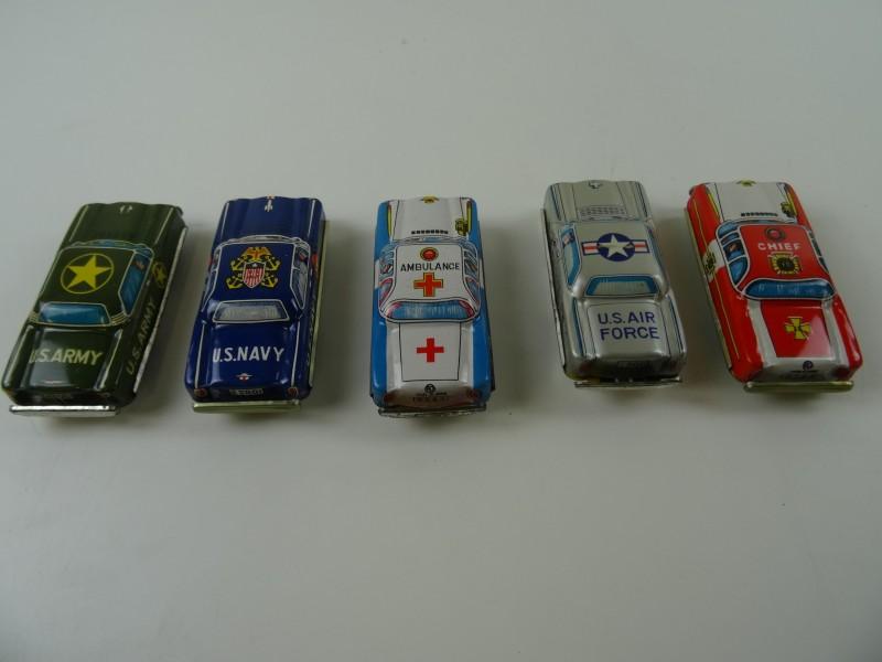 5 Japanse blikken auto's