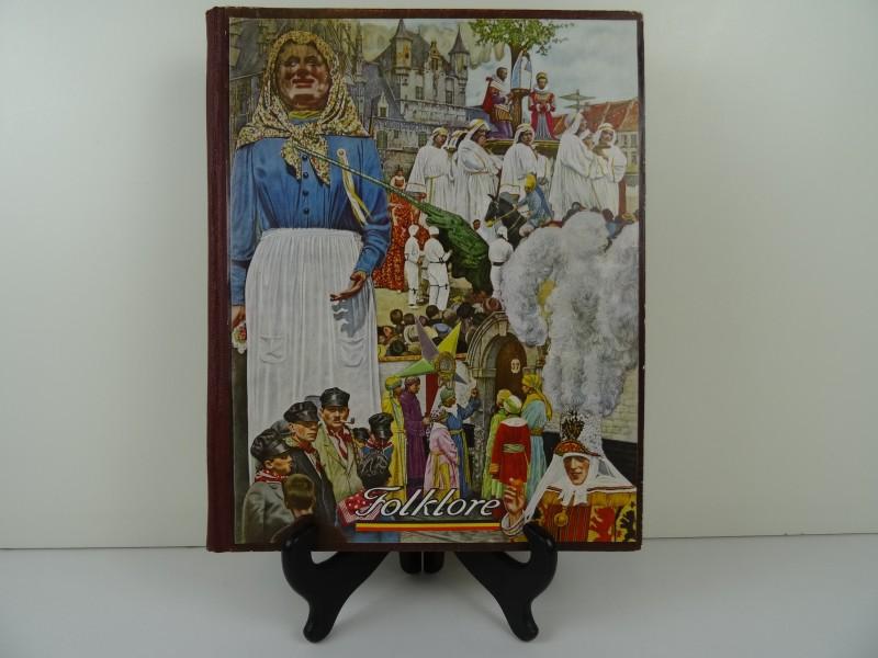 Cote d'Or Belgische folklore  van Henri Liebrecht 1948