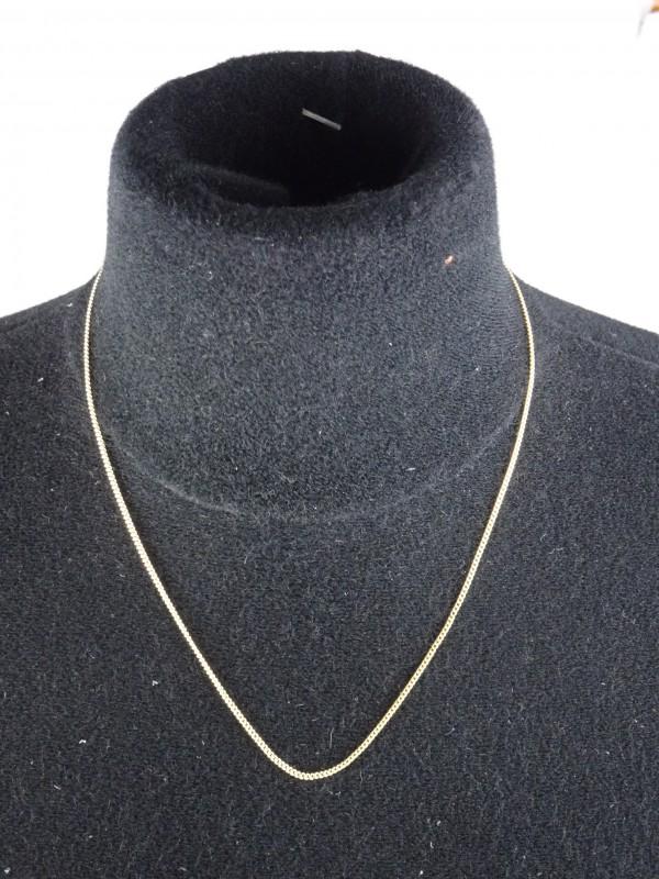Ketting met fijne schakels 2,8gr 8kt goud.