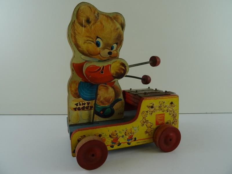 Vintage Fisher Price Toys Tiny Teddy