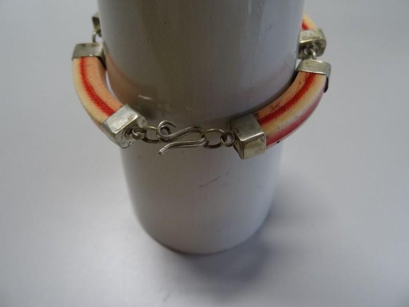 Vintage armband kunststof