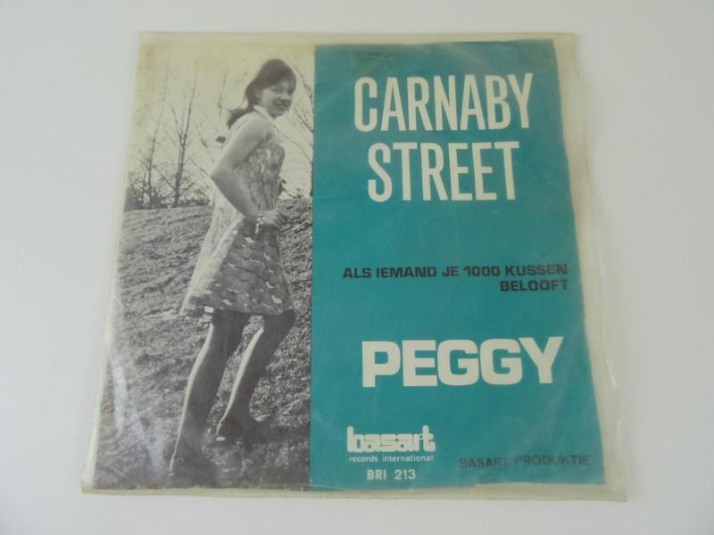 "Peggy – Carnaby Street / Als Iemand Je 1000 Kussen Belooft (7"")"