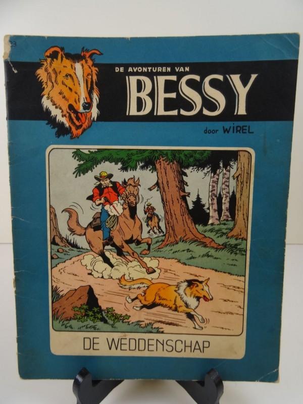 Wirel: Bessy: De weddenschap ( nr 23) 1958 eerste druk
