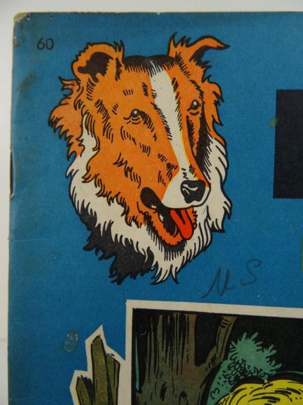 Wirel: Bessy: De zwarte scalp (nr 60) 1965 eerste druk