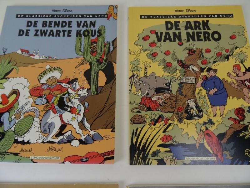 Marc Sleen: 4 x klassieke avonturen van Nero nr 15, 16 ,27 en 28 1999
