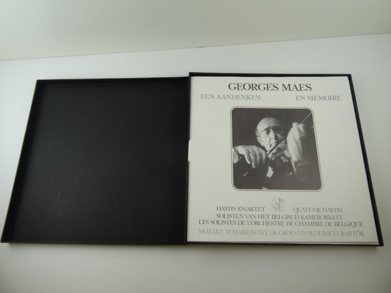 George Maes - Een Aandenken - En Memoire (box set)