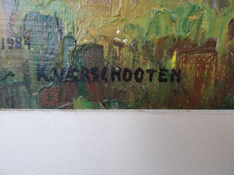 Karel Verschooten: Scheldelandschap 1984