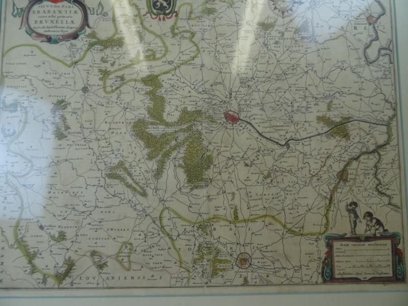 M.F.Langren: Secunda pars Brabantiae  ingekaderd